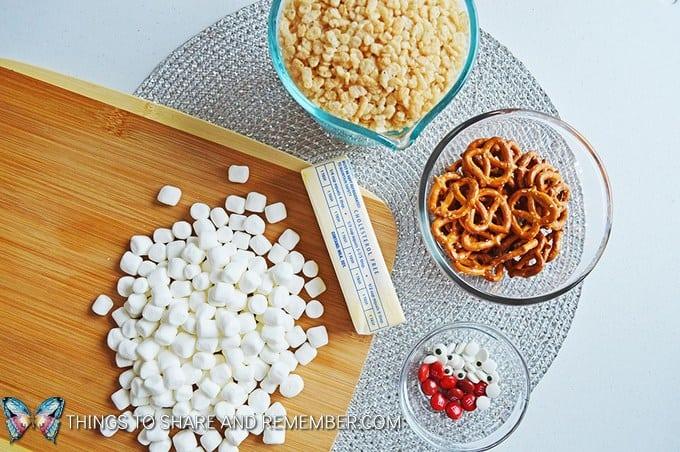 Reindeer Krispies ingredients