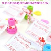 valentine stamp of approval printable cards