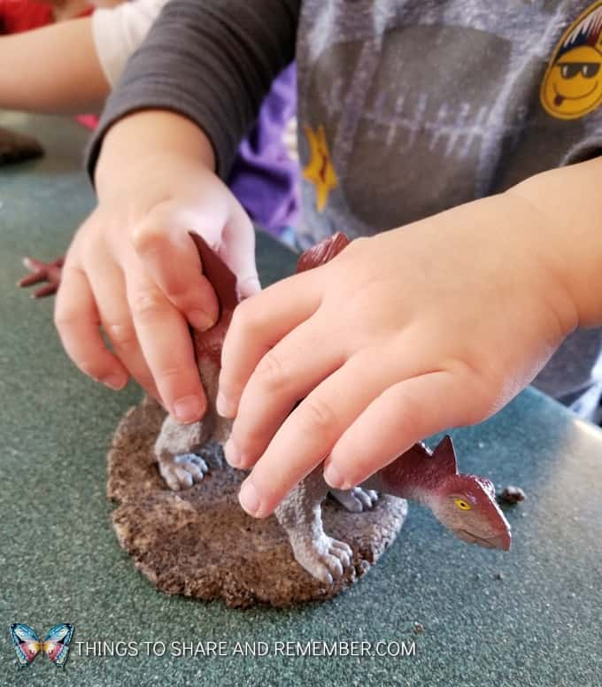 Dinosaur Fossil Clay Recipe