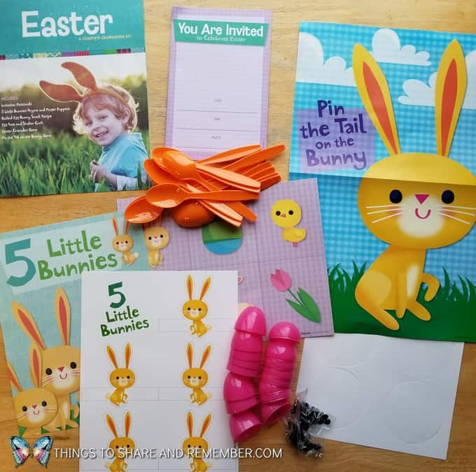 Mother Goose Time Easter Celebration Preschool Party Kit