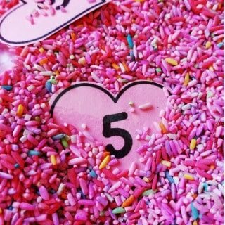 Number Heart Search and Printable