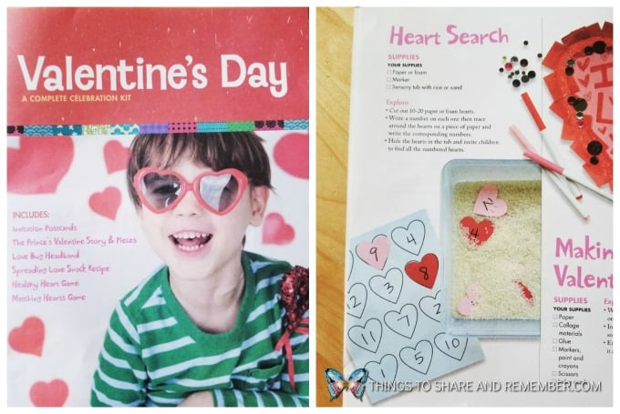 Valentine's Day Celebration Kit Heart Search Idea from Mother Goose Time Preschool Curriculum