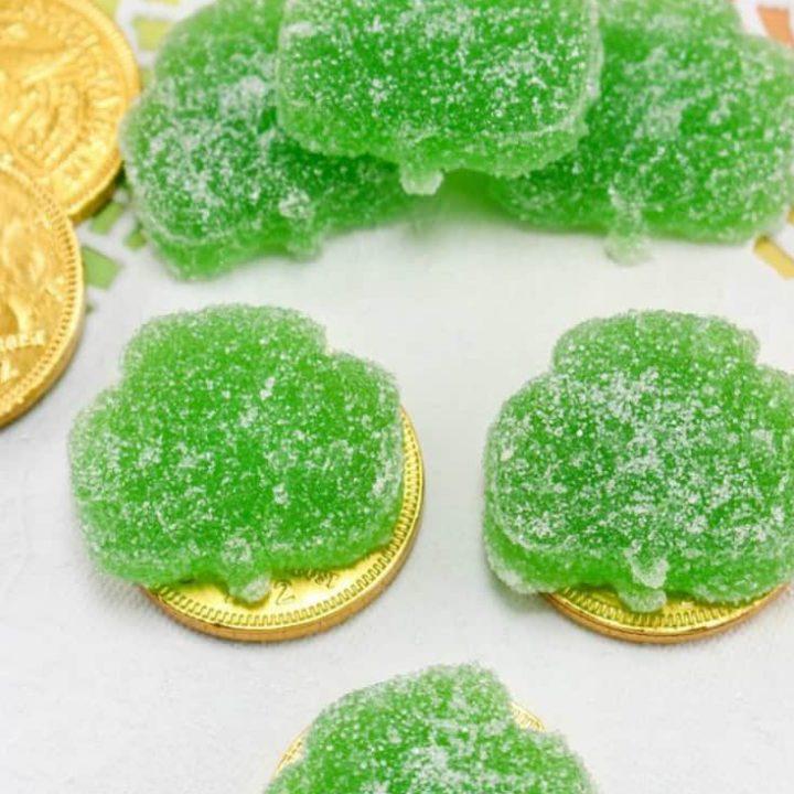 shamrock gummy candies