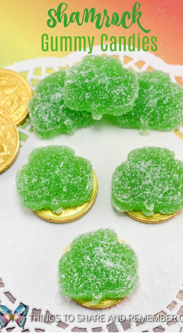 Shamrock Gummy Candies