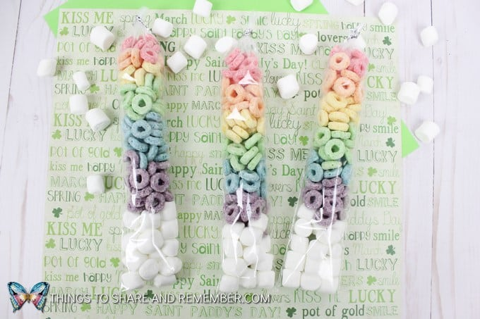 Rainbow Fruit Loop Rainbow Treat Tubes