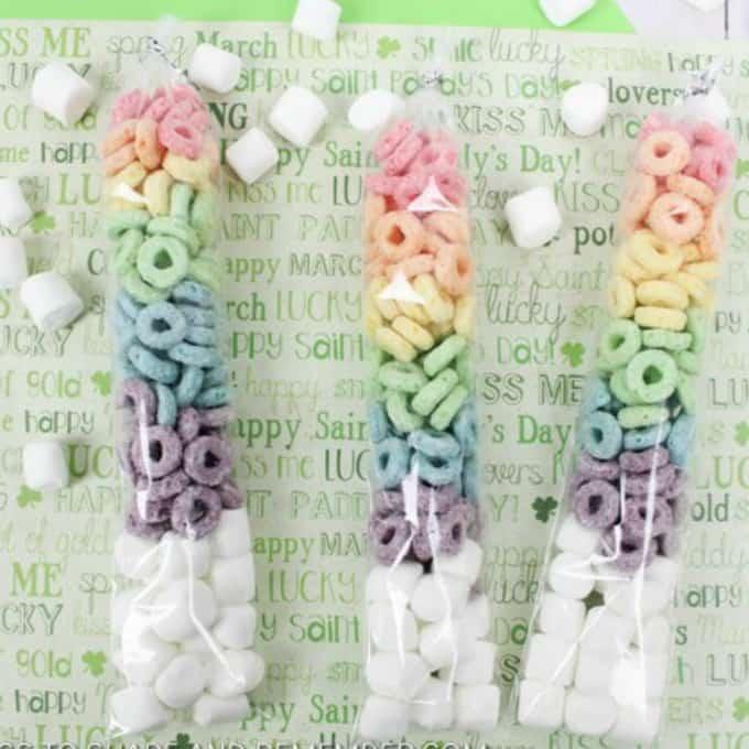 Rainbow Fruit Loop Rainbow Treat Tubes