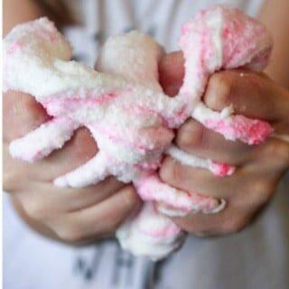 Pink Bubble Gum Slime