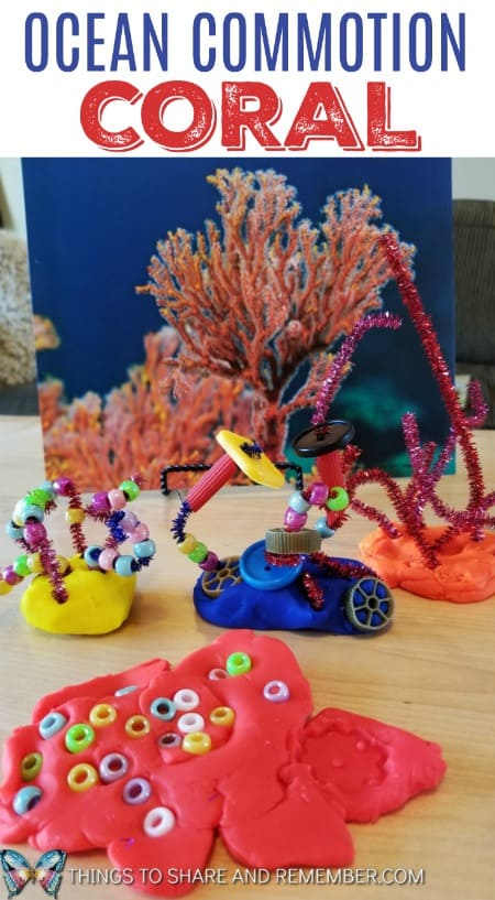 Coral Collages and STEAM Station Mother Goose Time Preschool Activities from Share & Remember