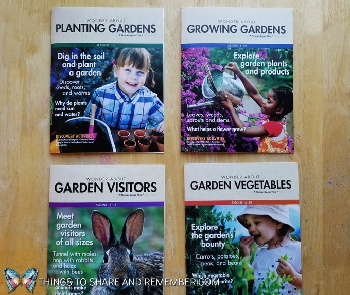 Growing Gardens Preschool Theme weekly teachers guides