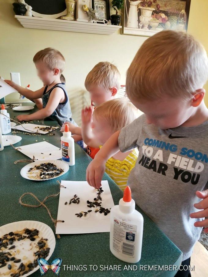 Creating Seed Mosaics