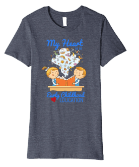 child care provider appreciation day gift idea early childhood educator t-shirt