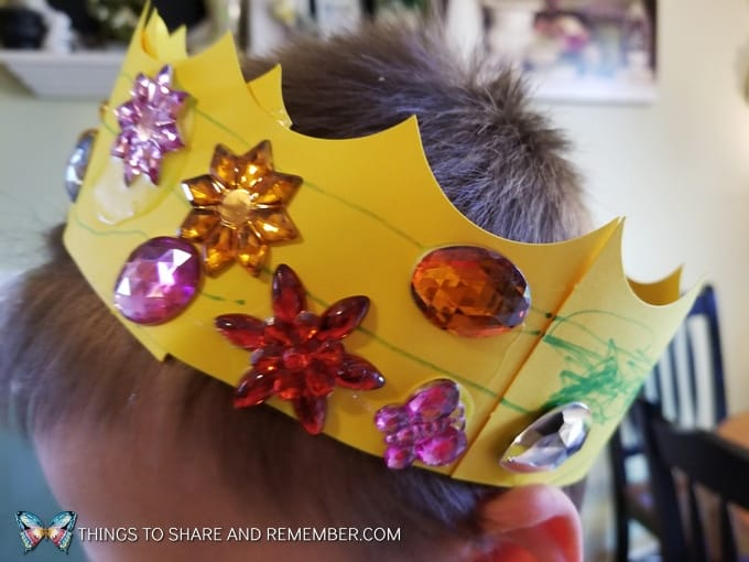 crown headband craft