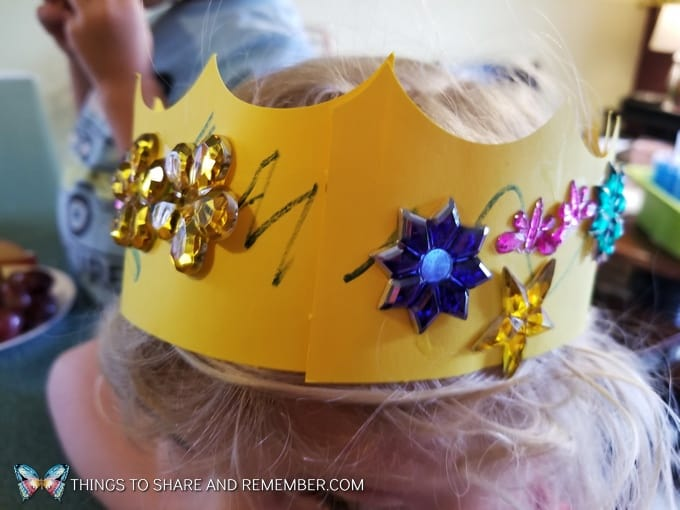 Crowns and Castles crown headband
