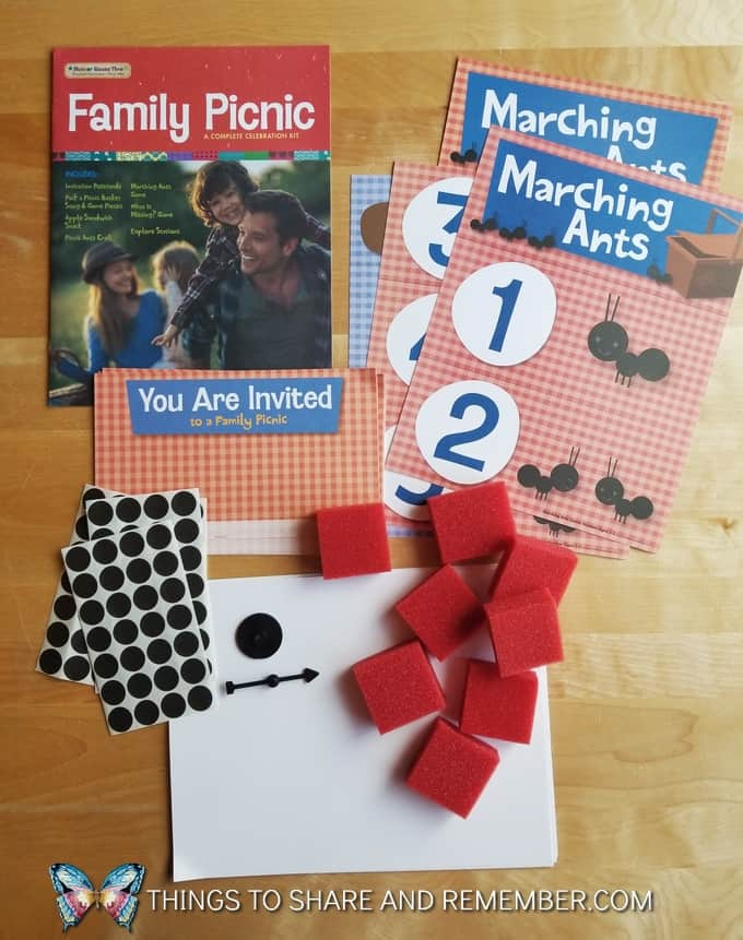 Mother Goose Time Family Picnic celebration kit