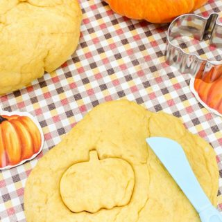 Super Soft Pumpkin Play Dough