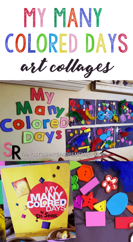 My Many Colored Days Art Collages