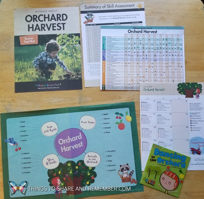 Orchard Harvest teacher tools supplies from Mother Goose Time