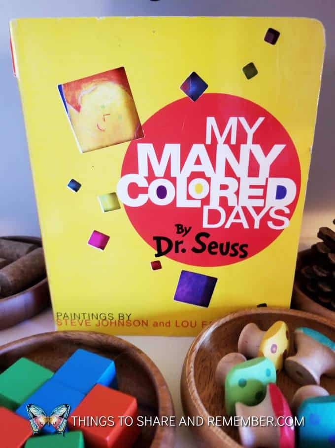 My Many Colored Days book by Dr. Seuss