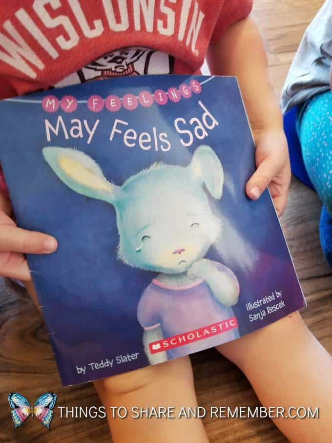 My Feelings May Feels Sad book from Scholastic
