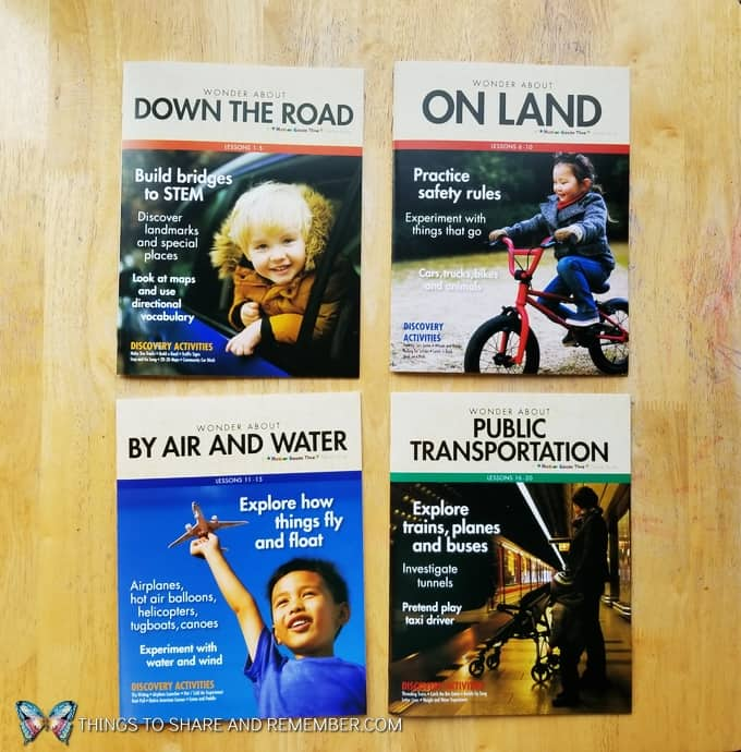 Down the road, On Land, By Air and Water, Public Transportation Teacher Guides