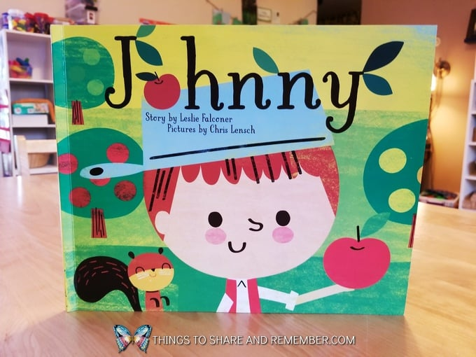 Johnny book about Johnny Appleseed
