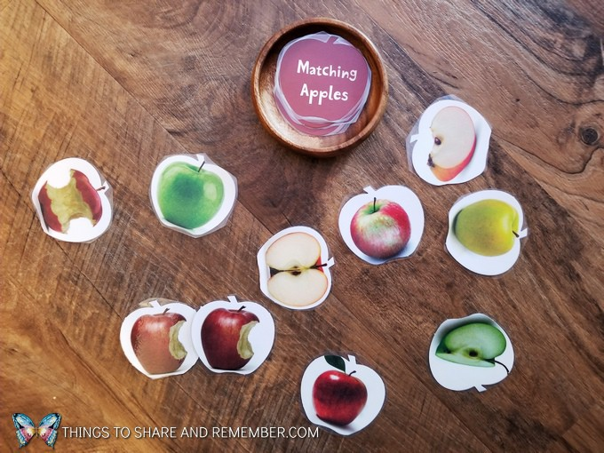 Matching Apples game