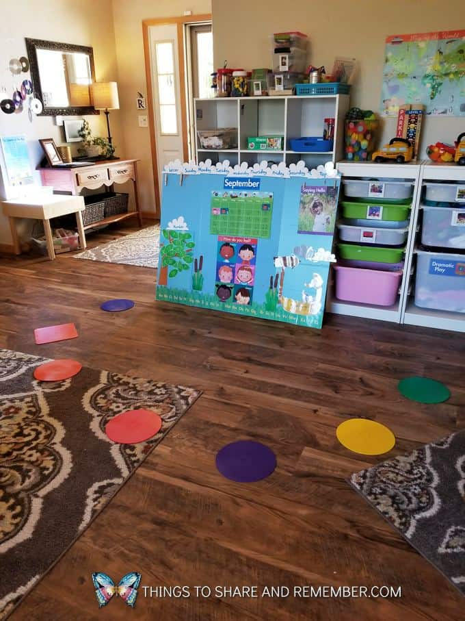 circle time preschool in home child care environment super fun circle time