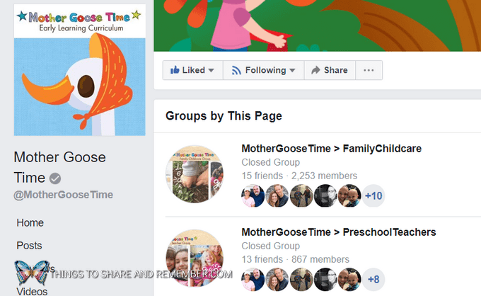 Making the Most of Your Mother Goose Time Materials Facebook groups for early childhood education and child care providers