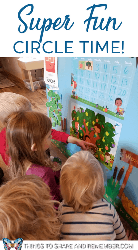 Ideas for Super Fun Circle Time in preschool #MGTblogger with Mother Goose Time