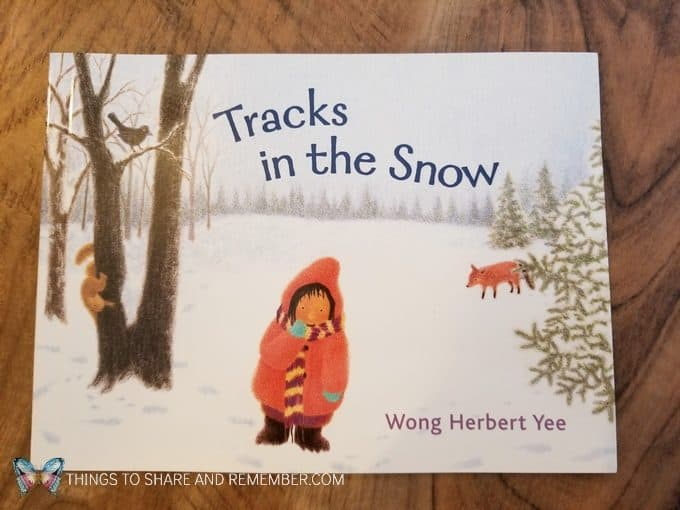 Tracks in the Snow book by Wong Herbert Yee - great book for learning about winter and animals that make tracks in the snow. #MGTblogger #MotherGooseTime #preschool #SightsandSounds #preschoolcurriculum
