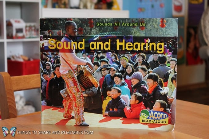 The Sound of Drums -- book about drums for early childhood. Sounds All Around Us Sound and Hearing book for preschoolers to learn about sound and how sound waves travel. Features multicultural images and facts about sound.