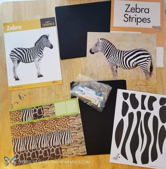 Lesson 9 Zebra preschool activities Going on Safari theme Mother Goose Time preschool curriculum #GoingOnSafari #MGT blogger #MotherGooseTime