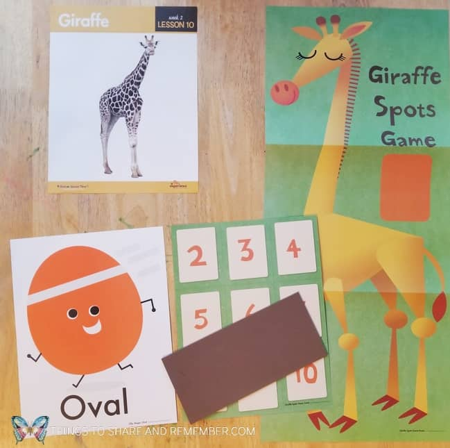 Lesson 10 Giraffe preschool activities Going on Safari theme Mother Goose Time preschool curriculum #GoingOnSafari #MGT blogger #MotherGooseTime