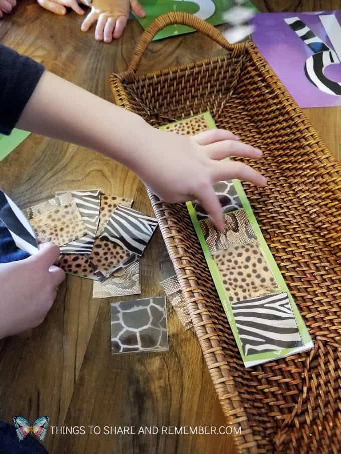 Zebra Stripes Art Going On Safari Preschool Theme #MGTblogger #MotherGooseTime #preschool #ece #safaritheme