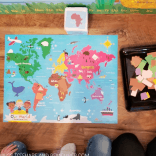 going on safari passport #MGTblogger #MotherGooseTime #preschool #MGTblogger #socialstudies