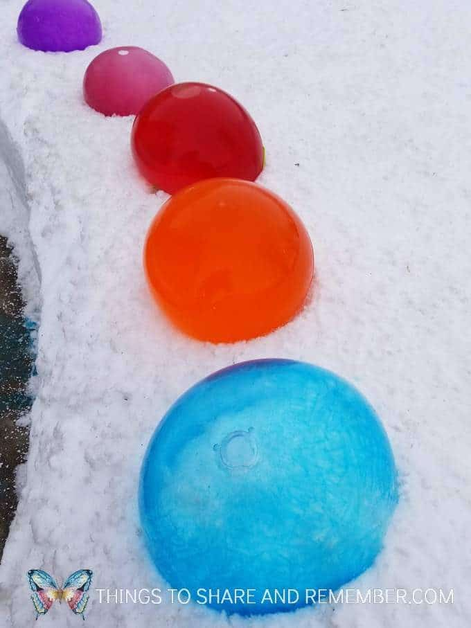 Frozen Balloons Ice Gems