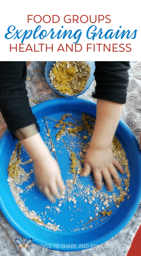 Exploring Grains Preschool Activities - Mother Goose Time Health and Fitness theme for February 2019 - Preschool curriculum Food Groups - Grains activities #MGTblogger #MGTHealthandFitness #ece #preschool #nutritiontheme