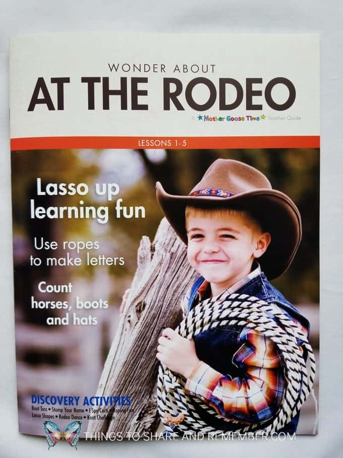 At the Rodeo Desert Lesson Plans Discovery Theme from Mother Goose Time Preschool Curriculum 25 Things I Love About Mother Goose Time Preschool Curriculum and complete description of what's included in the box for Desert Discovery