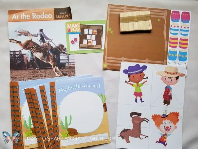 At the Rodeo  At the Rodeo - Desert Discovery Theme -Mother Goose Time preschool curriculum