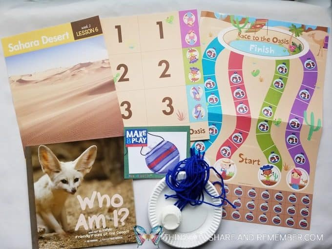 Sahara Desert - Desert Discovery Theme -Mother Goose Time preschool curriculum
