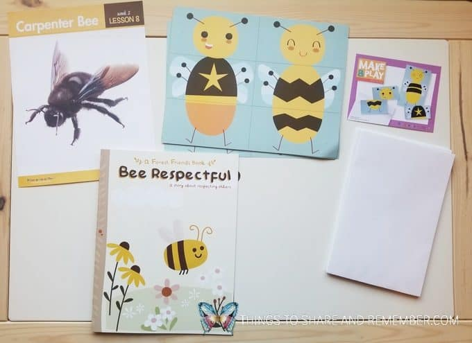 Lesson 8 bees and butterflies theme Carpenter Bee activities