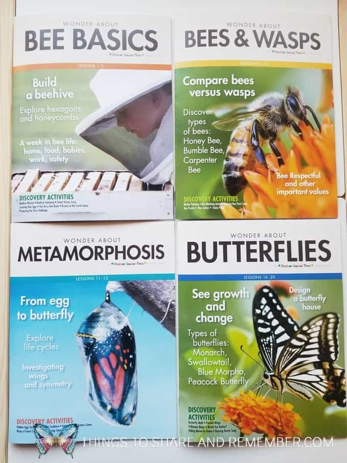 teacher guide books bees and butterflies theme