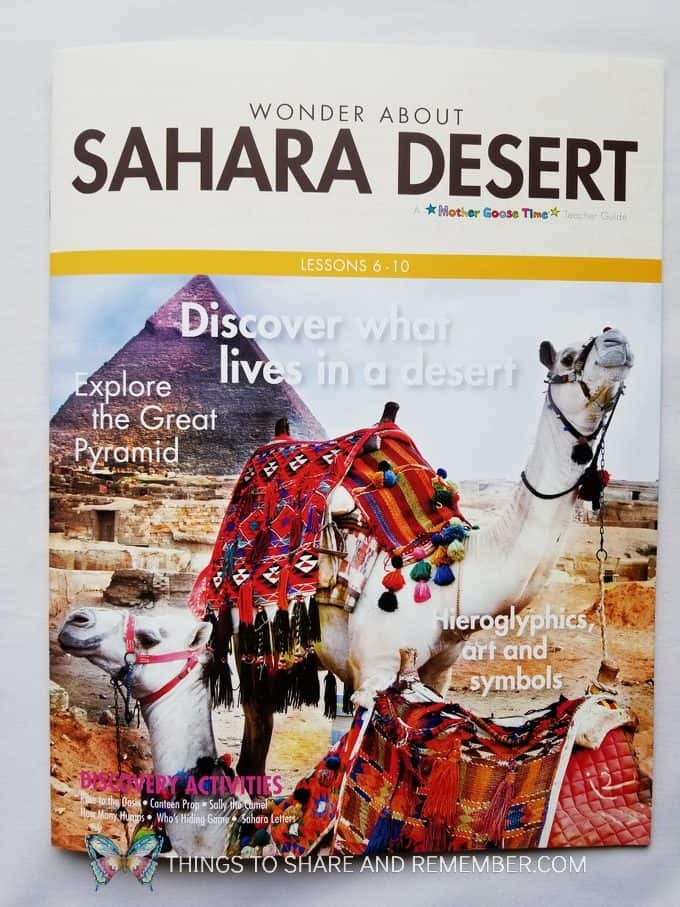 Wonder About Sahara Desert Lesson Plans Discovery Theme from Mother Goose Time Preschool Curriculum