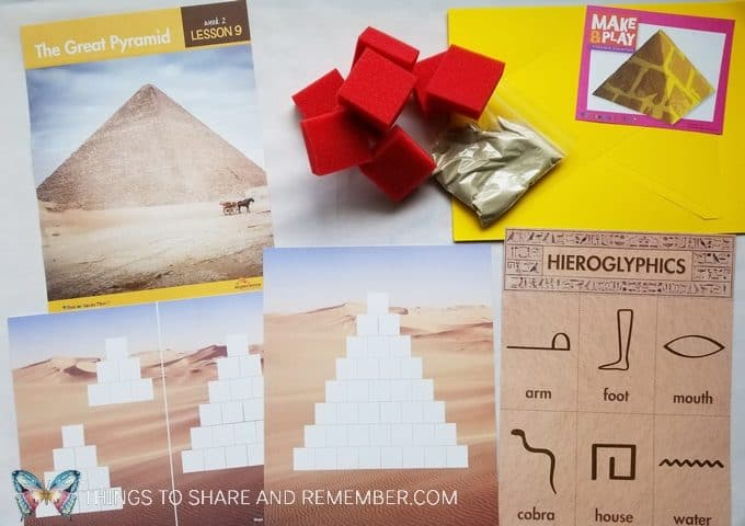 The Great Pyramid -  Desert Discovery Theme -Mother Goose Time preschool curriculum