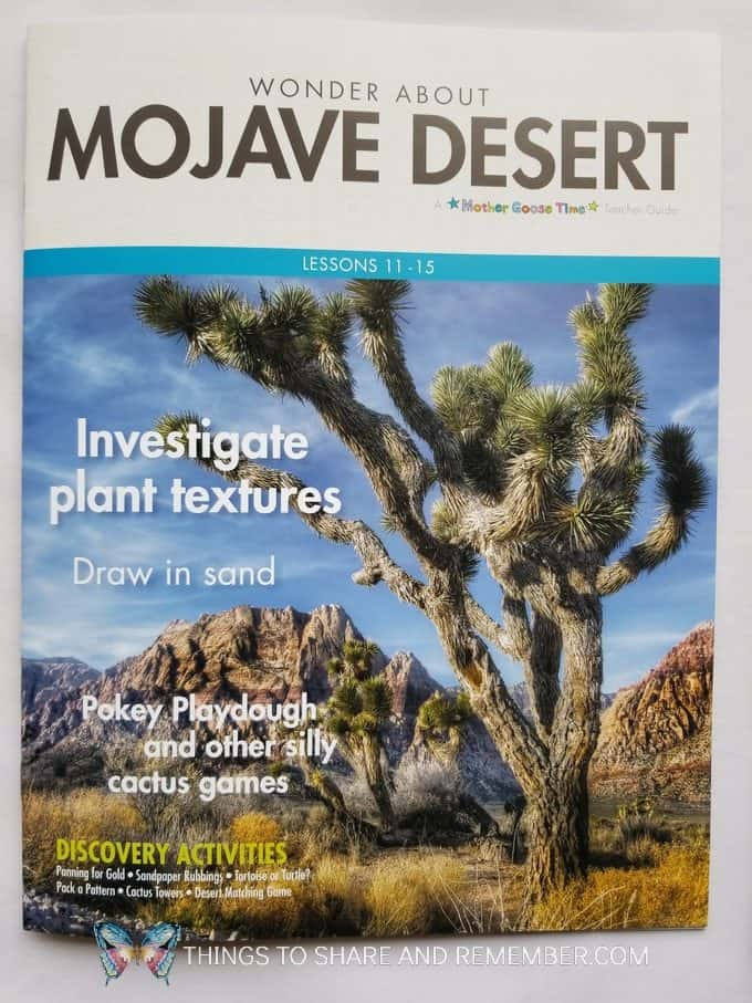 Mojave Desert Lesson Plans Desert Discovery Theme from Mother Goose Time Preschool Curriculum