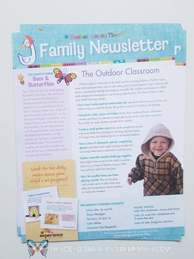 April family newsletter