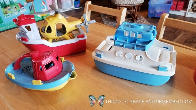 boat toys for Bubbles and Boats and Floats theme