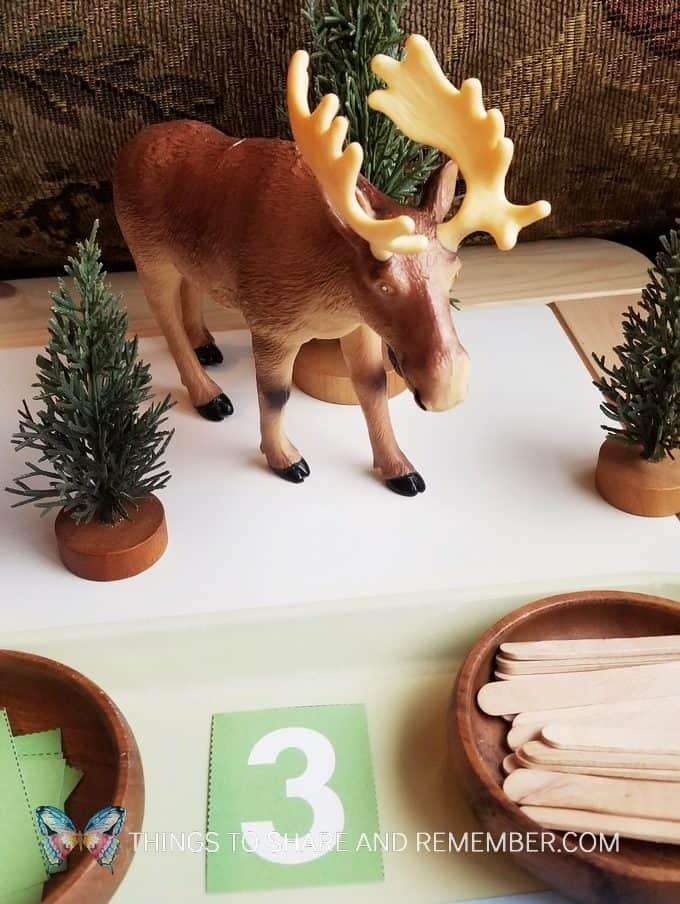 M is for Moose Preschool Fun