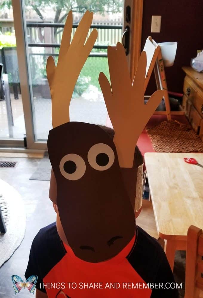 M is for Moose headband
