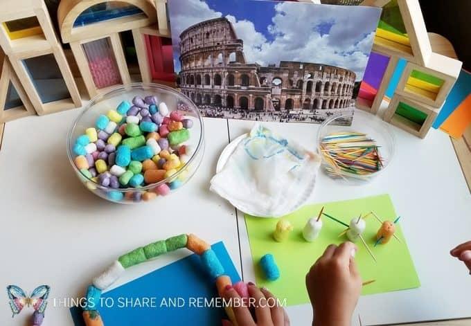 preschool building activity
